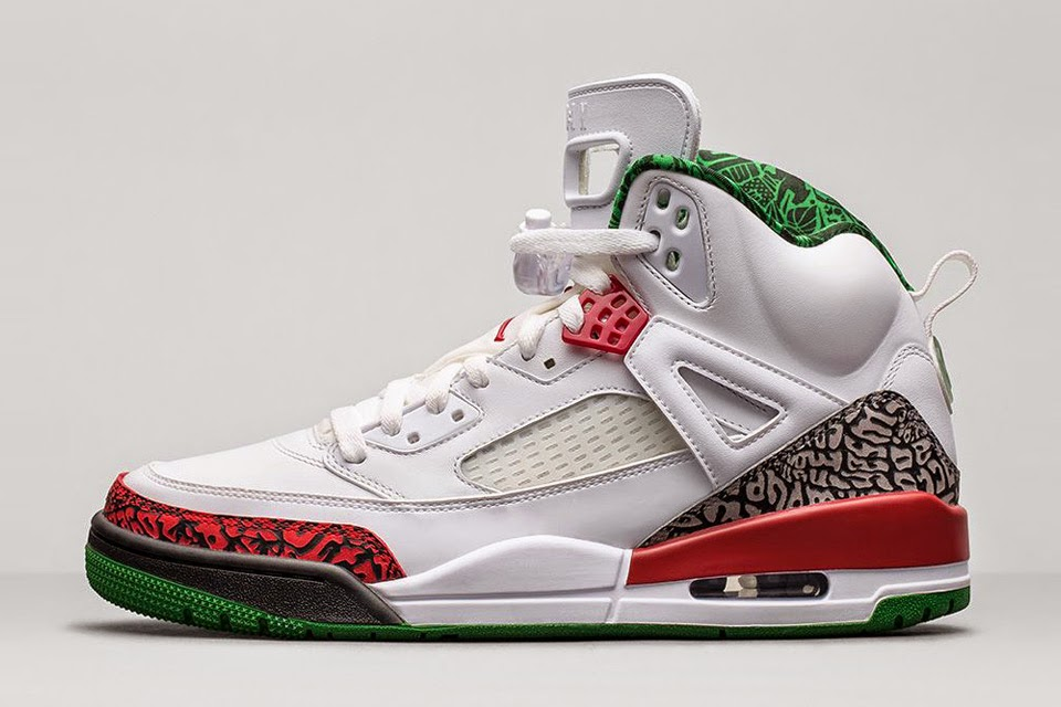 "Nike Air Jordan Spizike ""Cement/Classic Green"""