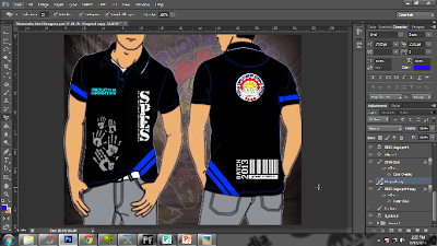 Special Program for Employment of Students (SPES Uniform Design Process using Adobe CS6) by www.maxginez3.com