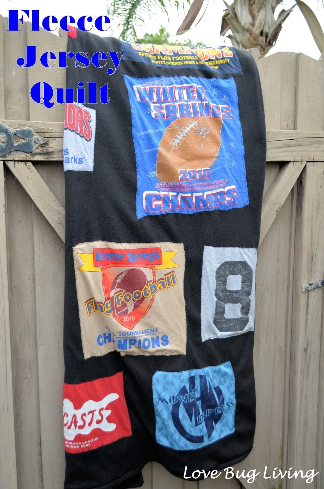 Love Bug Living: Jersey Quilt : jersey quilt - Adamdwight.com