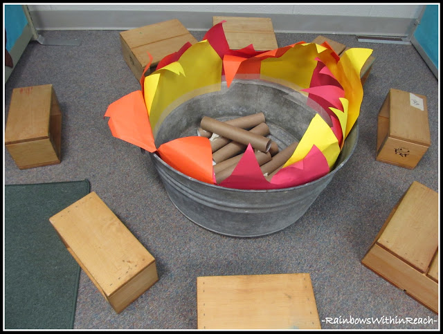 Camping Fun In Dramatic Play Center on The Wild West Activities Crafts And Printables