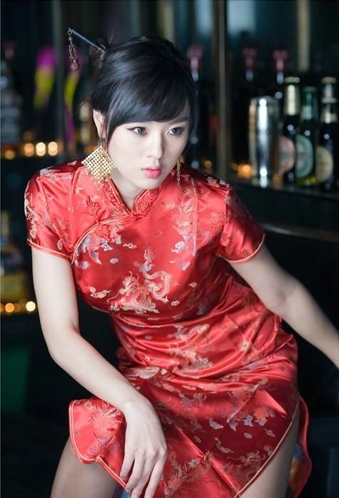 Pakaian / Baju Tradisional China  (Cheongsam)