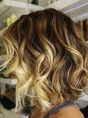 peinados con ondas look cortes de pelo 2014