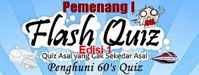 Flash Quiz Penghuni 60 Edisi 1