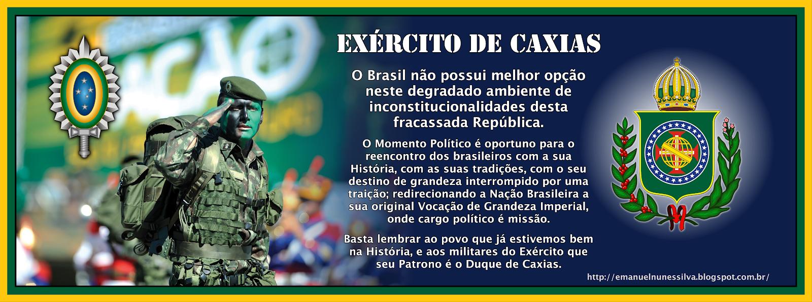 Exército de  Caxias