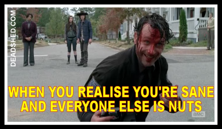 Deadshed productions crazy rick edition the walking dead 5x15 memes