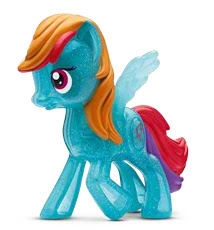 MLP Happy Meal Toy Rainbow Dash Figure by McDonald's