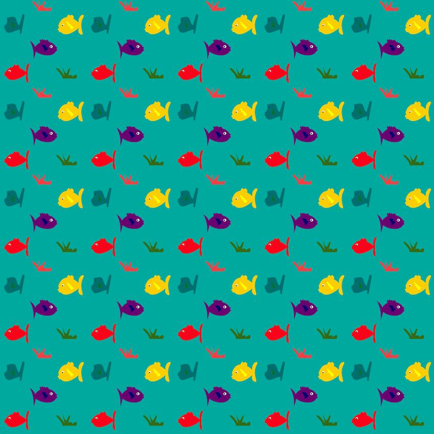 Free digital fish scrapbooking paper ausdruckbares for Fish wrapping paper
