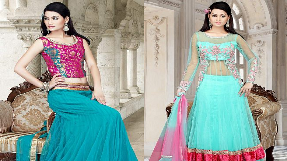 Indian Bridal Dresses Lehenga Collection
