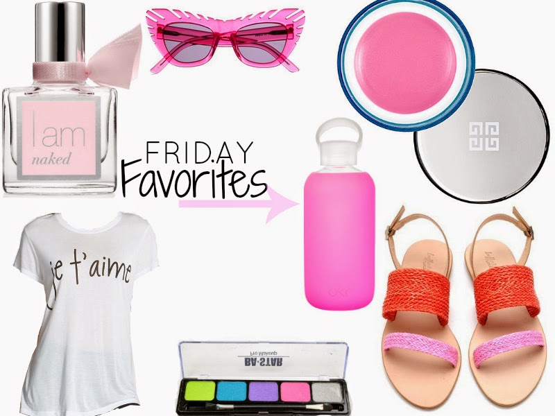 I Am Naked, House of Holland Combover Sunglasses, Givenchy Hydra Sparkling,  Boston Fashion, Boston Fashion Blog, Friday Faves, Friday Favorites, Pink, Shopping,