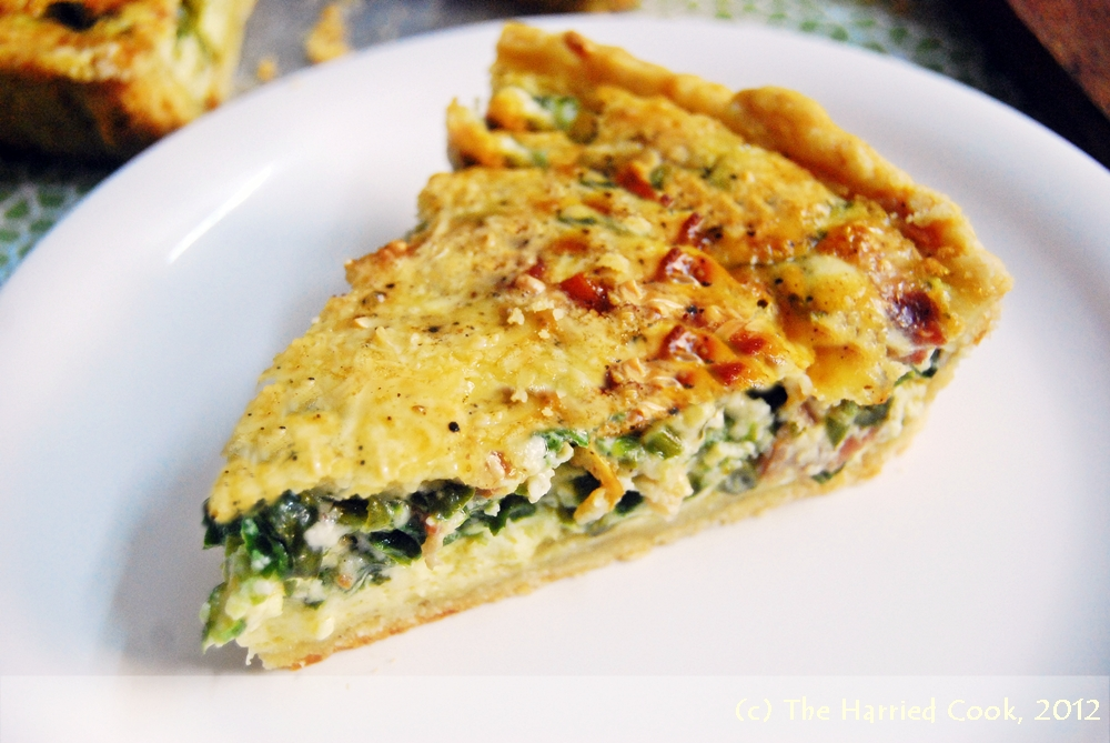 The Harried Cook: Spinach & Bacon Quiche