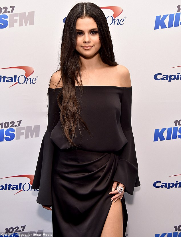 Selena Gomez gets feisty at the Jingle Ball Concert in LA
