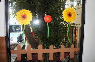 Ideia de decorao de festa junina com flores