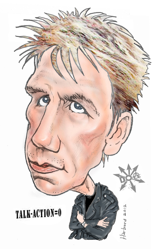 Joe Keithley of DOA by Dan Harbord
