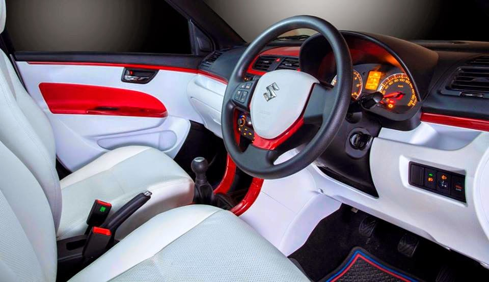 Dc design modified maruti suzuki swift revealed carnoise for Interior decoration of maruti 800