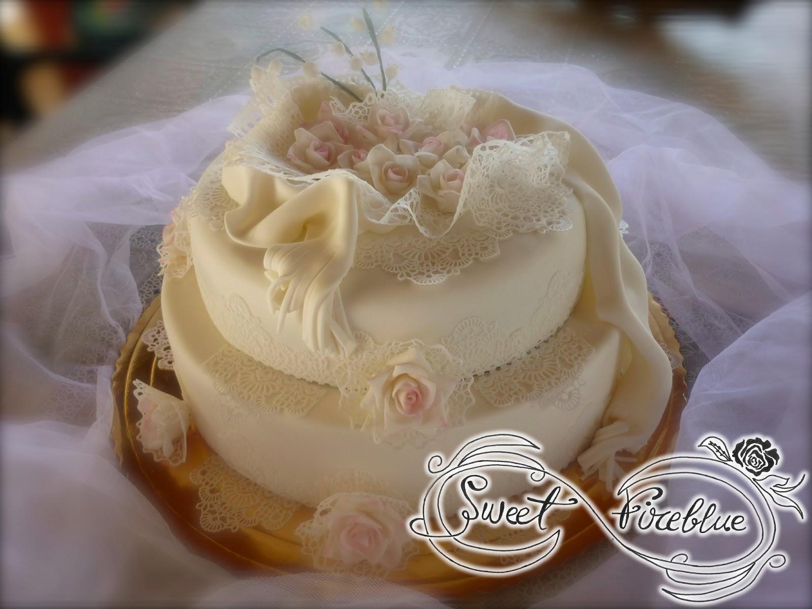 Sweet fireblue torta 50 di matrimonio for Decorazione torte per 50 anni di matrimonio