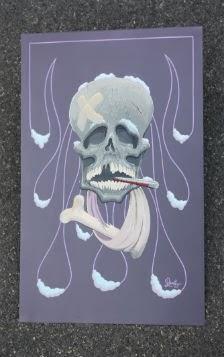 Get Well Skull