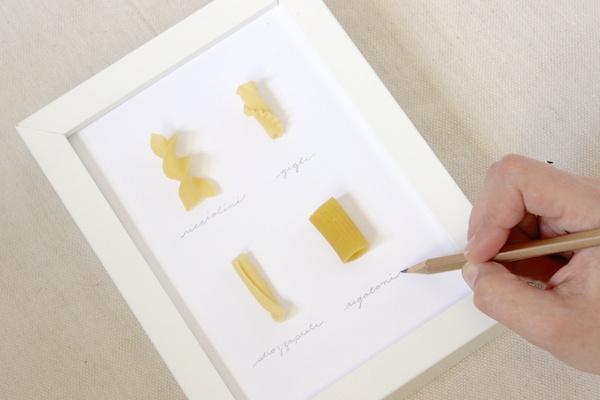 Decora tu cocina con estos cuadros recolectores de pastas