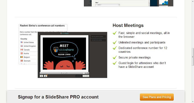 Be  online during an live online meeting, board meetings  with live presentation and chat