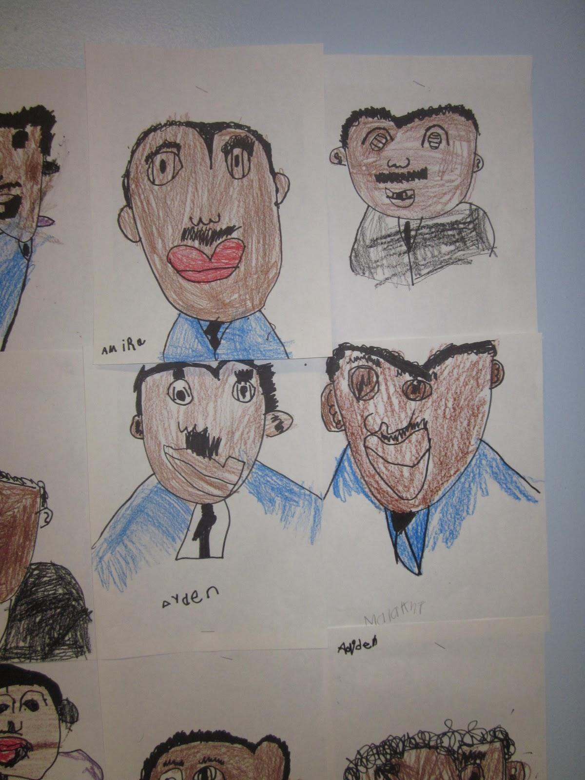 mrs miner s kindergarten monkey business free directed drawing kit