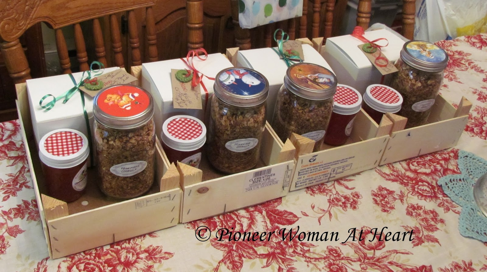 Pioneer woman at heart homemade gift ideas for the holidays for Homemade christmas gifts for women