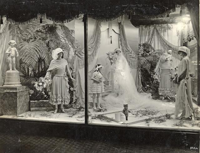 Christmas Wedding Dress 1920s