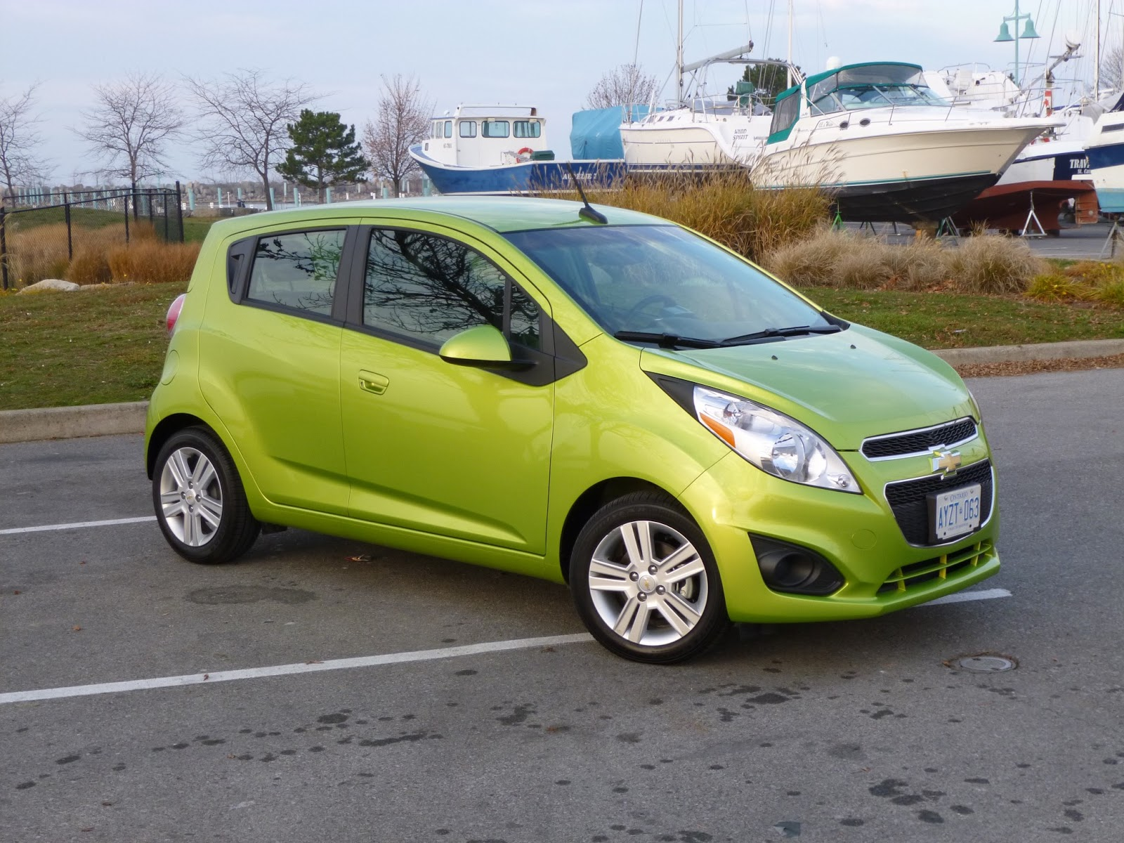 The 2017 Chevrolet Spark Is One Of Smallest Cars You That Can In America Today At Just 144 7 Inches Long It 2 Shorter Than A Mini