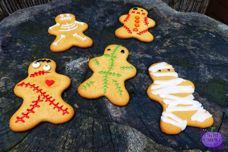 #Halloween Gingerbread Fiends #CraftyOctober