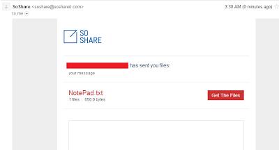 SOshare email