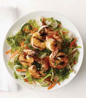 Rice Noodle - Shrimp Salad