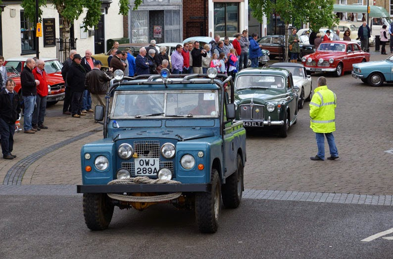 TSW Printers Border Classic Car Run in Brigg 2014 - picture on Nigel Fisher's Brigg Blog