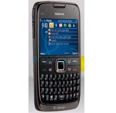 Nokia E73 Mode, Mirip E72 untuk T-Mobile