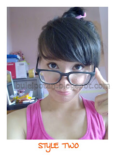 Make up for glasses