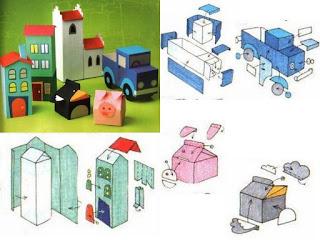moldes para E.V.A de brinquedos