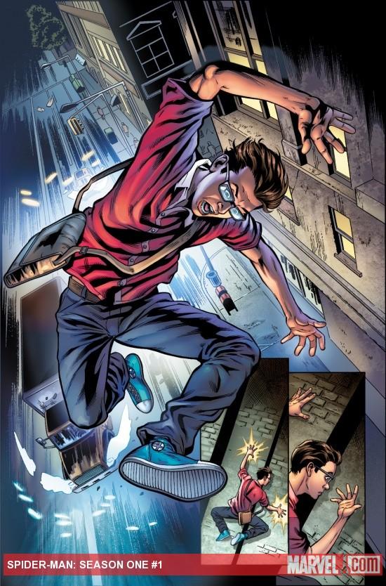 Season One : Le point sur cette nouvelle gamme Marvel (1ère partie) spider-man+season+one+3