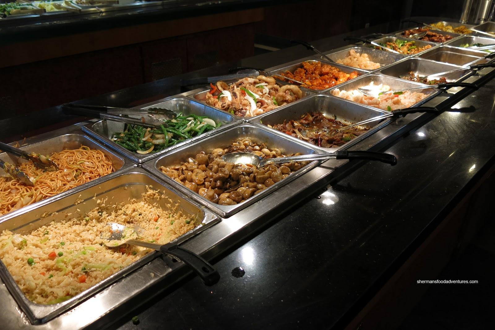 Sherman 39 s food adventures wonderful buffet for Asian cuisine buffet
