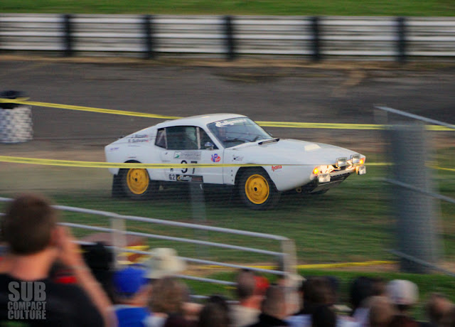 Saab Sonett Rally Car at 2013 Oregon Trail Rally