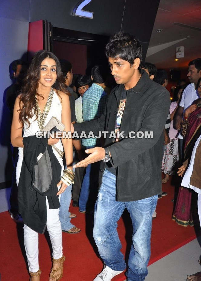 Genelia Dsouza1 - Genelia At Oh My Friend Premiere Show  Images