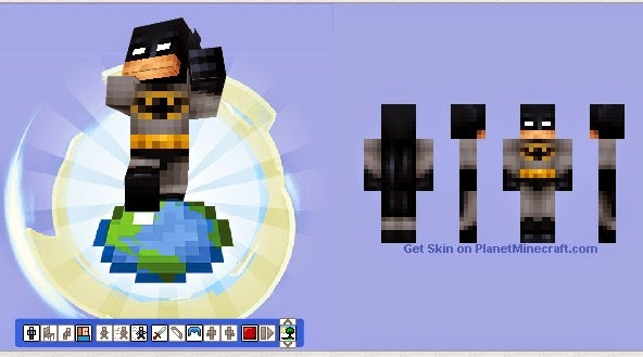 Batman Minecraft Skin