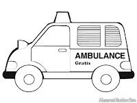 Gambar Mobil Ambulance Gratis