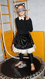 костюм для девочки десяти лет кошечка