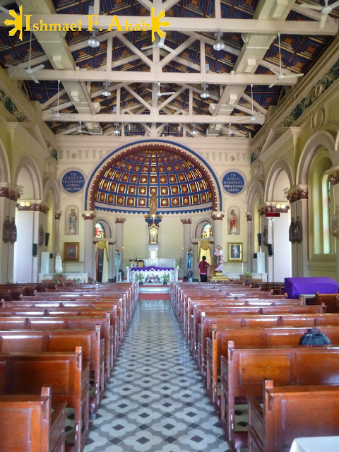 Inside St. Joseph Church in Ayutthaya Historical Park