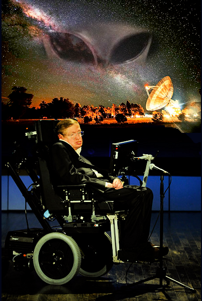 Nomadic Aliens Might Crush Us, says Stephen Hawking