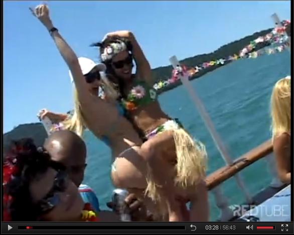 Muita Putaria e Sexo Carnaval no Barco