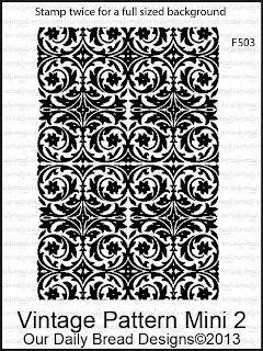 Stamps - Our Daily Bread Designs Vintage Pattern Mini 2