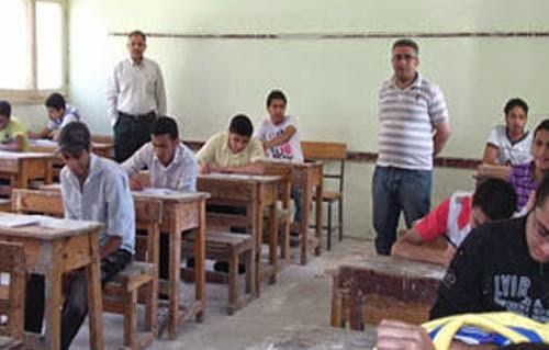 بدء امتحانات الشهادة الابتدائية ( الصف السادس الابتدائي) 2014 في محافظة قنا