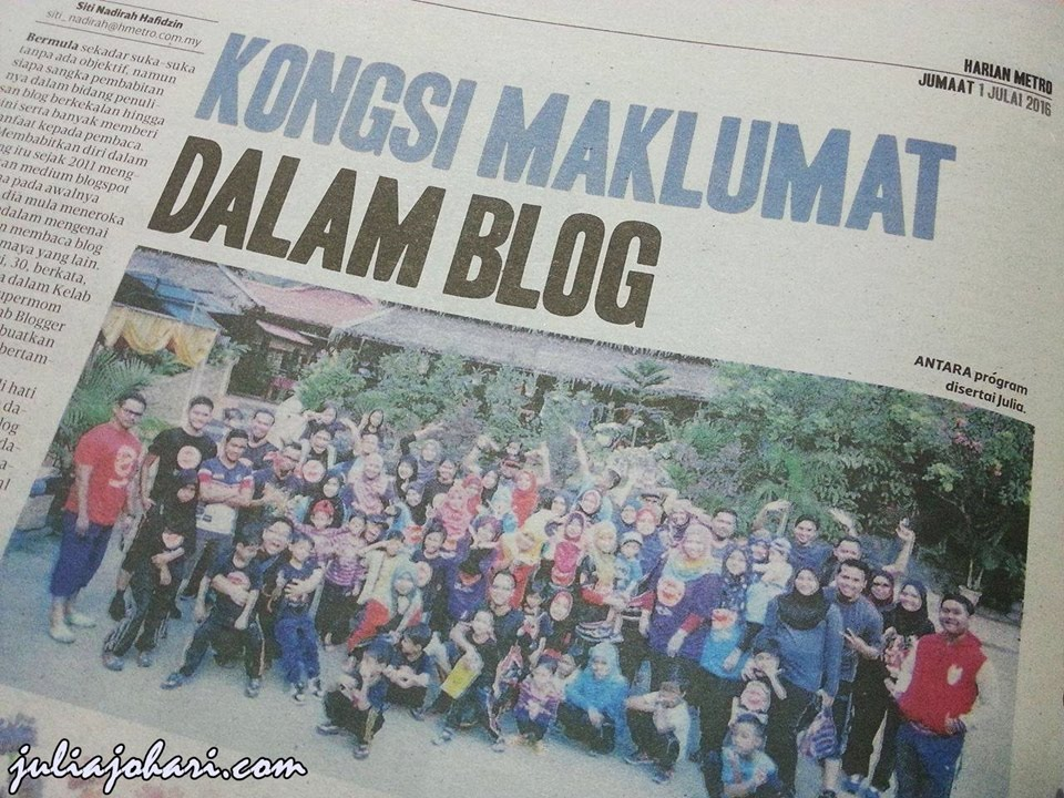 BLOGGER HARIAN METRO