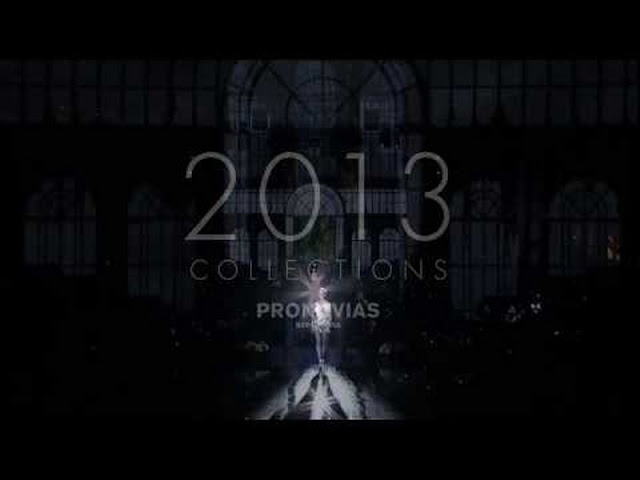 Pronovias 2013 Fashion Show Logo