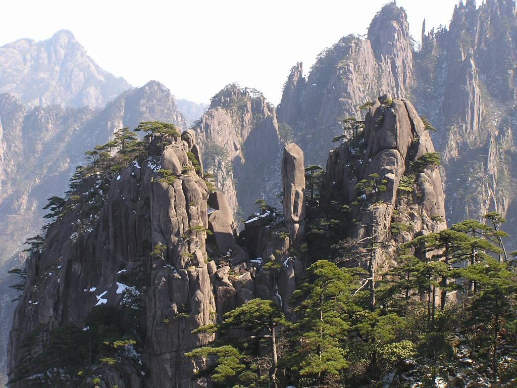 Montes Huang en China