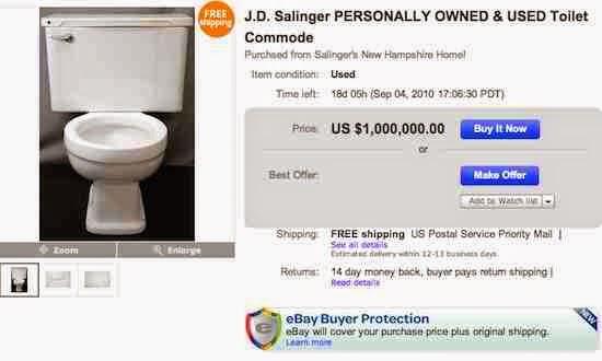 JD Salinger's Toilet