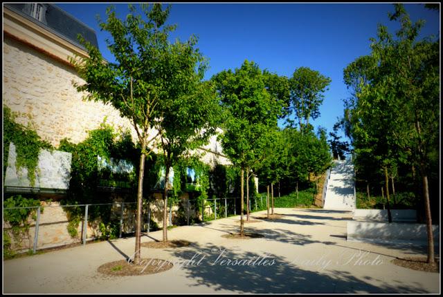 Jardin passage Etangs Gobert Versailles